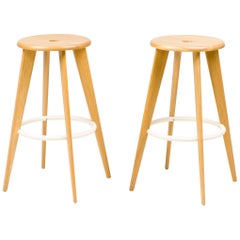 Vitra Tabouret Haut Barstool by Jean Prouvé