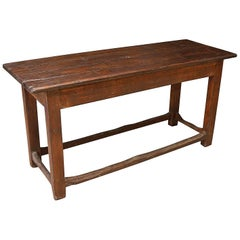 Antique Oak Workbench, Central Europe, 1920s