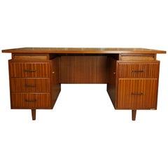 "Midcentury Dutch Design ""Burwood"" Executive Desk"