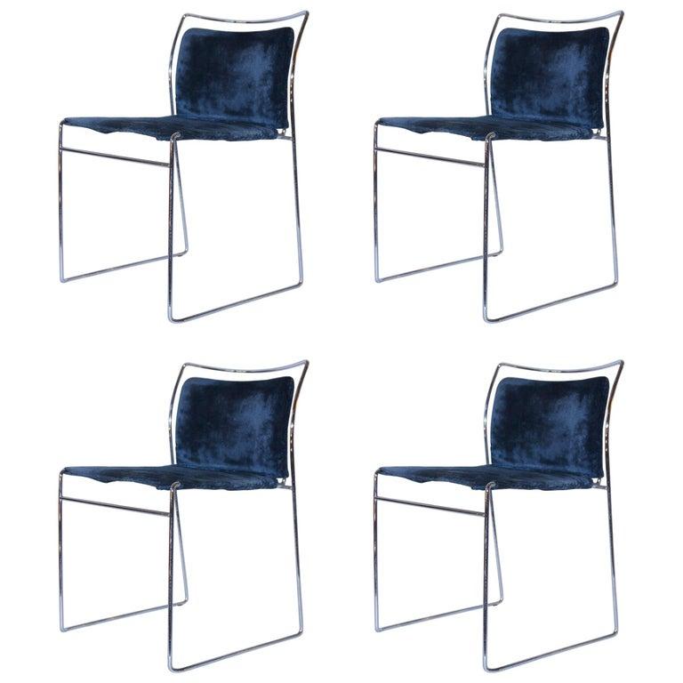 Takahama Kazuhide, Set of Four Chairs, Tulu Model, Simon Gavina Edition