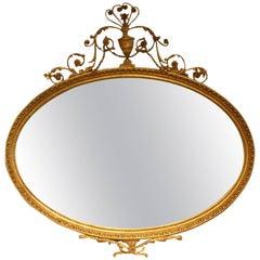 19th Century Adam Style Mirror