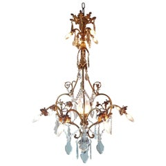 French Chandelier with Beautiful Details like Angels and Angel Faces