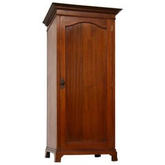 Antique Edwardian Mahogany Hall Cupboard/Wardrobe