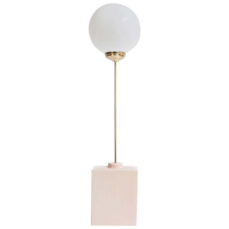 Squared Avalon LED Ceramic Floor Lamp