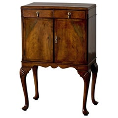 Nightstand Side Table Italian Rococo Light Wood, Italy