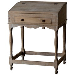 Wiring Desk Swedish 19th Century Original Paint Sweden