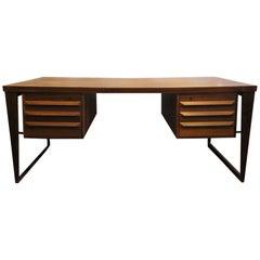 Kai Kristiansen for Feldballes Mobelfabrik Rosewood Desk, 1960