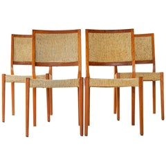 Teak Scandinavian Modern Dining Chairs by Svegards Markyard