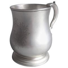 George II Mug Made in London in 1734 by Thomas Farren