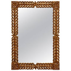 Gilt Carved Mirror by Harrison and Gil