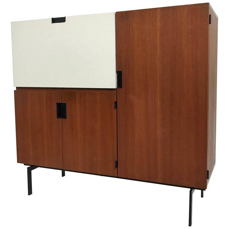Pastoe, Cees Braakman Cabinet Dry Bar Cu Series Japanese Series, 1950s