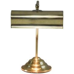 French Midcentury Brass Piano Lamp