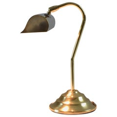 French Midcentury Brass Piano Lamp, 1950-1960