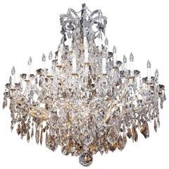 Large Swarovski Crystal Chandelier with 35 Lights
