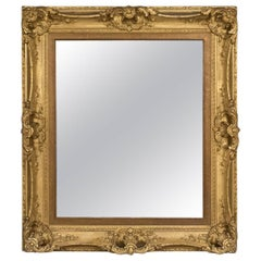 Antique Wall Mirror, English, Victorian, Picture Frame, 19th Century, circa 1900