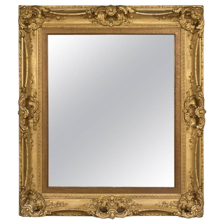 antique wall mirrors ornate antique wall mirror english victorian picture frame 19th century circa 1900 century