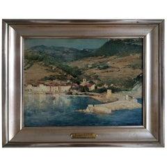 Zacharie Baton 1851-1925 Port De Cassis, France