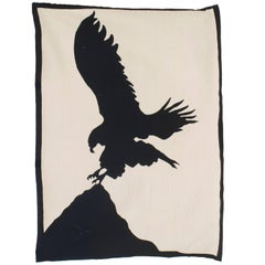 The Big Five, Eagle, 2011, Designed by Geoffrey Bradfield Tapestry