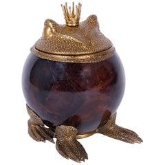 Bronze and Penshell Frog Box