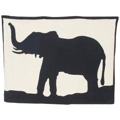 The Big Five: Elephant, 2011 Designed by Geoffrey Bradfield Tapestry