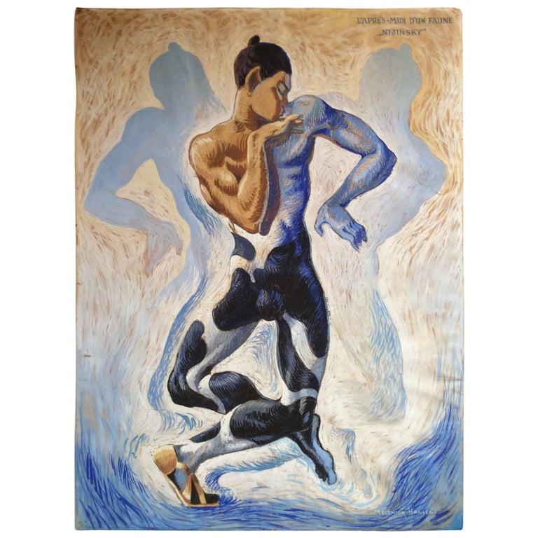 Vaslav Nijinsky Russian Ballet Dancer For Sale
