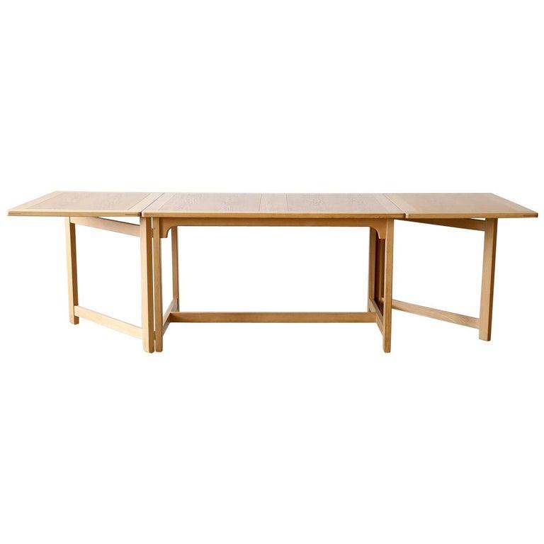 "Børge Mogensen BM71 Fredericia Oak ""Library"" Table Danish Modnern Vintage"