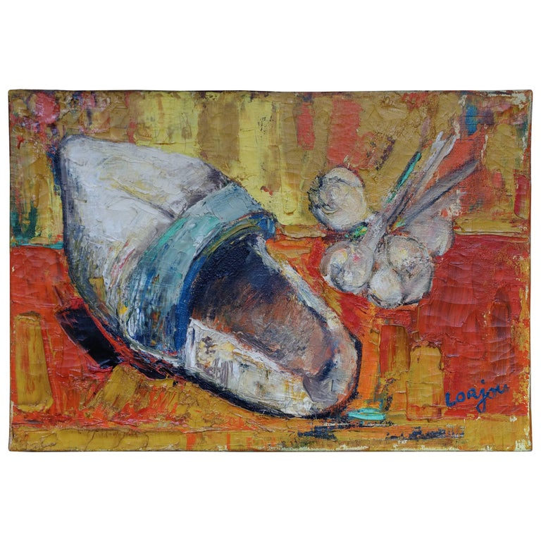 Painting by Bernard Lorjou, Le Sabot 'Clog', 1955-1957, Oil on Canvas