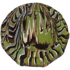 Antique Jaspé Plate