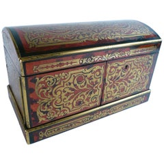 19th Century French Boulle Tea Caddy