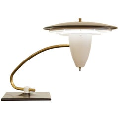 Thurston Style Flying Disc Swivel Desk Lamp