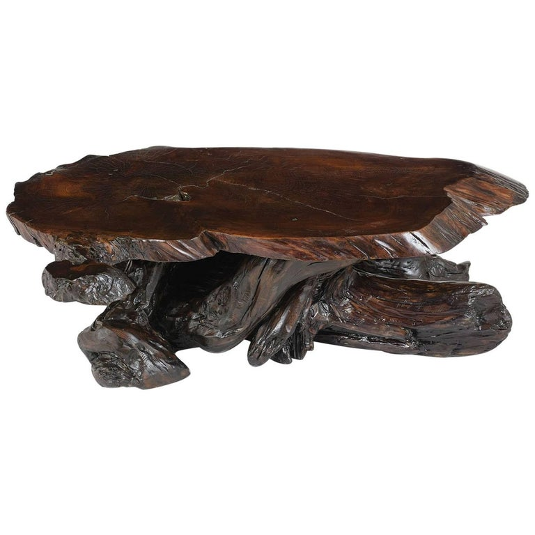 Organic Tree Root Coffee Table