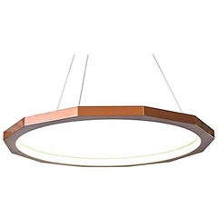 Matthew McCormick 28 Dodeca Pendant Drop Chandelier, Copper