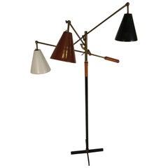 1950s Arredoluce Triennale Floor Lamp