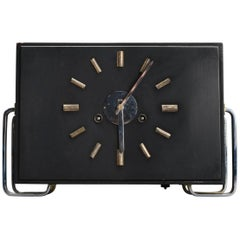 Beautiful Bauhaus Mantel Clock by Junghans
