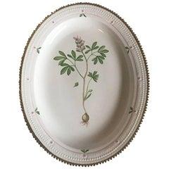 Royal Copenhagen Flora Danica Oval Serving Tray #735/3517