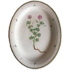 Royal Copenhagen Flora Danica Oval Serving Tray #735/3519