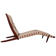 Early George Nakashima Long Chair, 1952