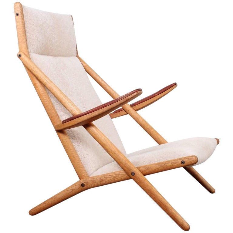 Lounge Chair by Ditte and Adrian Heath for Soren Horn For Sale