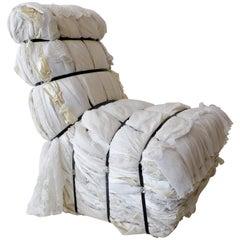 Important Tejo Remy Wedding Dress Rag Chair for Droog Design
