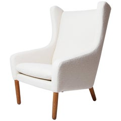 Wingback Chair by Poul Volther