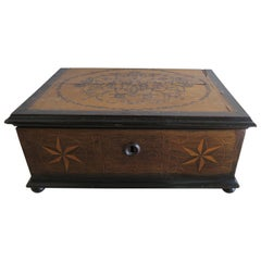 19th Century Italian Inlaid Bible Box