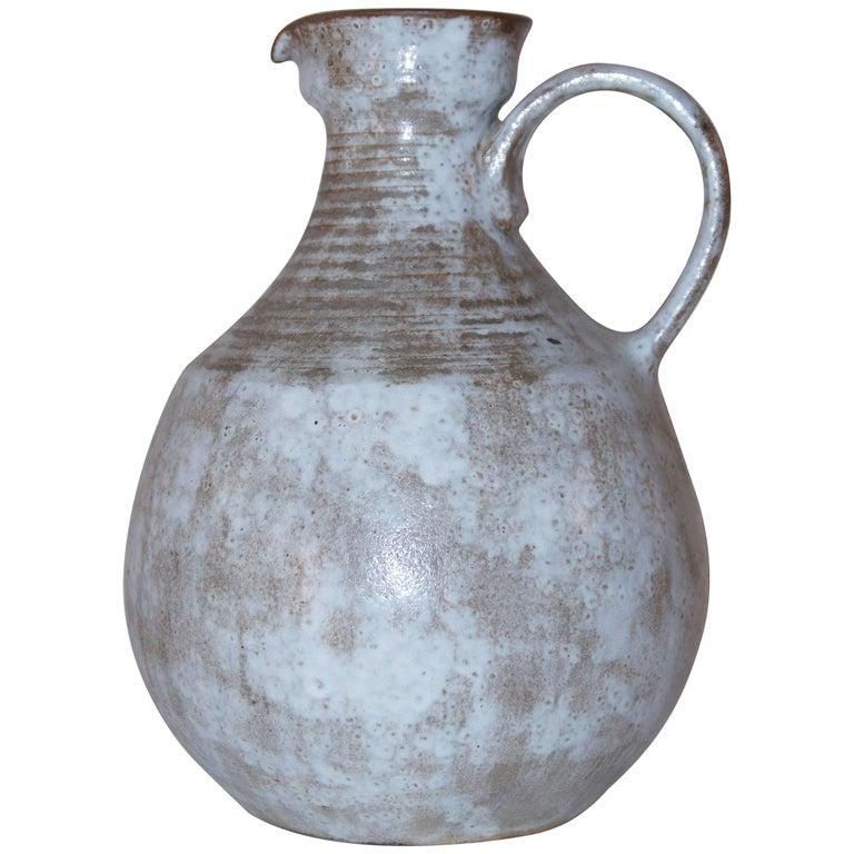 Pitcher, Vallauris, Ceramic, Signed, circa 1970, France