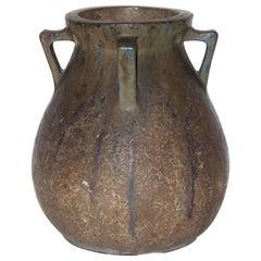 Vase, Enamelled Ceramic, France, circa 1930