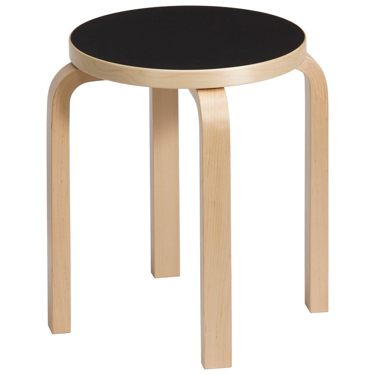 Early Pair Of Fan Leg Stools By Alvar Aalto At 1stdibs