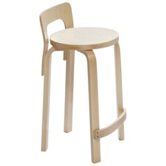 Authentic High Chair K65 in Lacquered Birch by Alvar Aalto & Artek