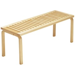 Authentic Bench 153A in Birch by Alvar Aalto & Artek