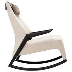 Coccolo Armchair in White by Maurizio Marconato & Terry Zappa