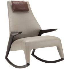 Coccolo Armchair in Taupe by Maurizio Marconato & Terry Zappa