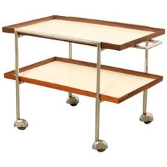 Tea Trolley Drinks Cart 1960s Poul Norreklit