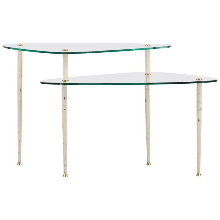 """Couch Table """"Arlecchino"""", Design by Edmondo Palutari, manufactured by V.I.S. H"""